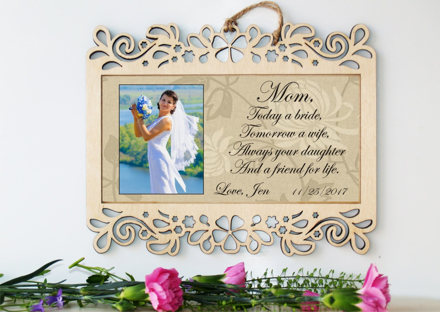 Wedding sign-Mother of the Bride gift-Mother of the