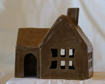 Gingerbread House - High Fired Clay