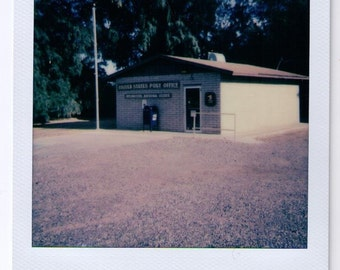 Post Office Polaroid Photograph