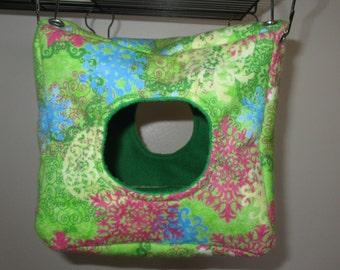 Spring Pattern Cube Hammock