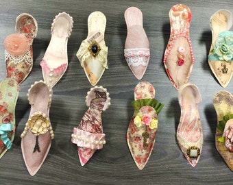 "Paper Shoes ""Marie Antionette"""