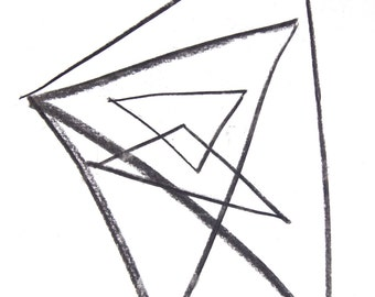 Abstract Triangles 01