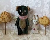Pattern Teddy Bear + Wings + Bunny. George and Charlotte