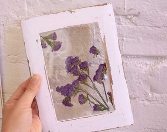 Statics Flower Botanical frames, Dried Flower, urban art,gift, Vintage, Modern,home decor