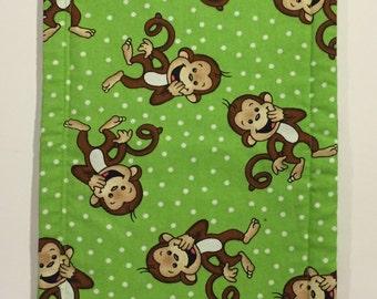 Monkey Burb Cloth