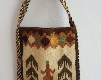 handwoven wool bags
