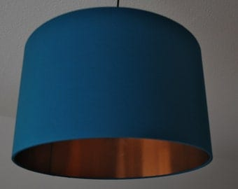 "Lampshade ""Petrol-copper"""