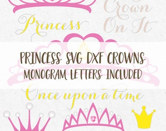 Crowns Tiaras Svg Monogram Frames Princess Svg Monogram Font Svg Svg Vine monogram svg cutting monogram svg svg files silhouette cricut svg