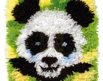 Latch Hook Kit - Panda