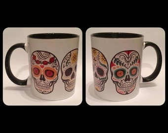 Sugar Skull - Day of the Dead Mug