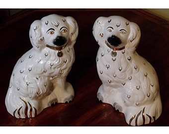 Pair of Vintage Beswick Staffordshire Spaniels