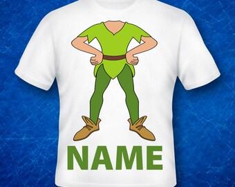 Peter pan,Peter pan Shirts,Peter pan  Birthday Shirt, Custom Made