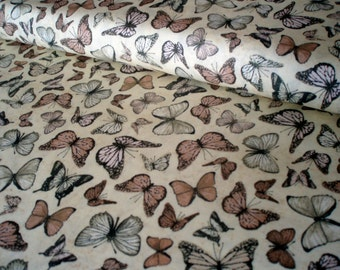 Cotton fabric Mirabelle - butterfly