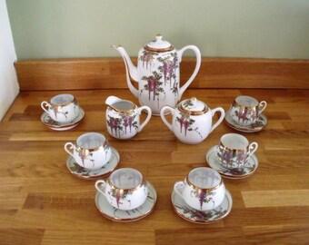 Japanese Coffee/Tea set
