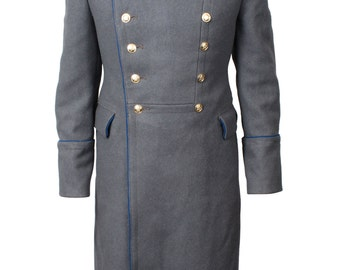 Soviet KGB General Parade overcoat / Russian woolen coat
