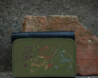 ninja turtles wallet - TMNT (three sizes)
