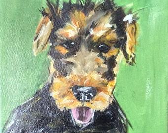 Dog Portrait -  9x12