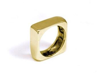 Bath ring yellow gold QCERCLAT