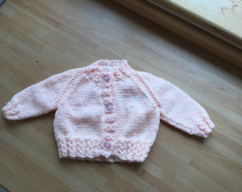 Baby cardigan knits chrochet childrens clothing handmade