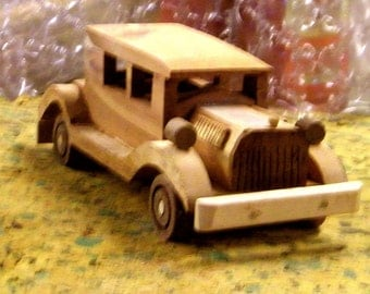 Old wooden car
