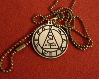 Seal Of Metatron pendant, Metatron  sigil necklace, amulet