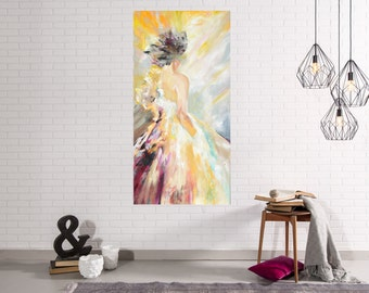 Lady Series #1 Abstract Art Giclee Print