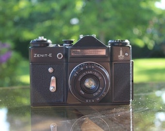 Camera Zenit-E, limited edition Olympic Games of Moscow 1980