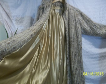 1950's Vintage Saks Fifth Ave. Mohair Woman's Coat