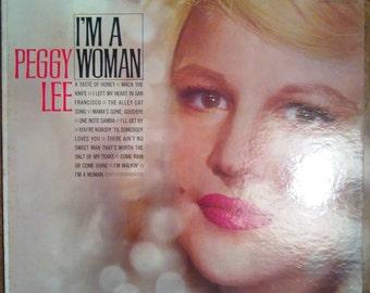Peggy Lee - I'm a Woman T-1857 Vinyl Record LP 1963