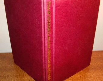 1986 Archibald M'Sparran The Irish Legend of The M'Donnell and the Norman de Borgos Vintage Book