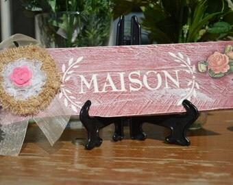 MAISON decorative plate