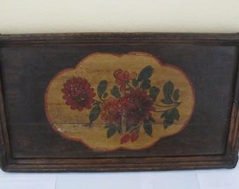 Vintage Wood Plate