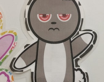 Dark Bunny Bookmark