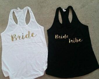 Bride Tribe Bachelorette Shirts