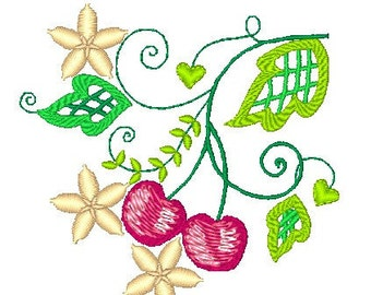Cherry Cutwork  ( 10 Machine Embroidery Designs from ATW )