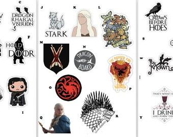 Game of Thrones Sticker Set!