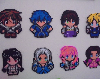 Final Fantasy collections Perler beads/Hama beads