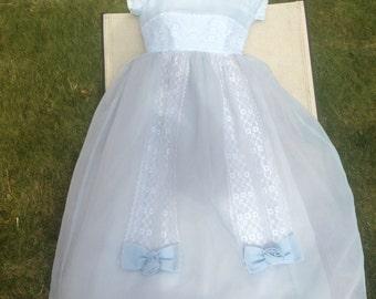 Vintage Childs bridesmaid Dress
