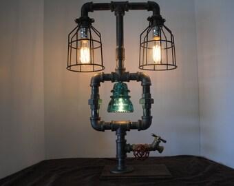 Lighted Insulator Pipe Lamp