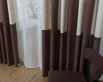 Champagne And Burgundy Curtainscurtains For Living Roomcurtainssheer Curtainskitchen