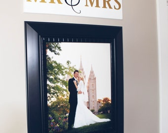 Mr & Mrs Vinyl with board