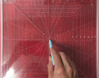 Quilting, Freemotion Quilting Crosshair Square Tool