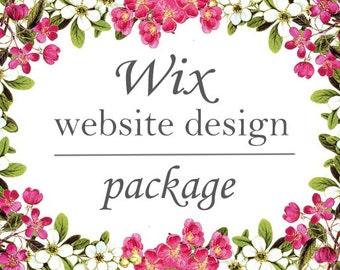 Wix Website Design Package