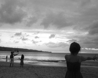 Children at play, Bali