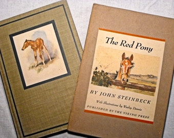 The Red Pony by John Steinbeck First Edition 1945