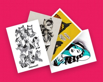 Catwoman75 Postcard Pack (x4)