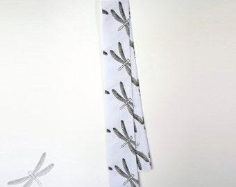 Dragonfly Head Wrap Creamy White