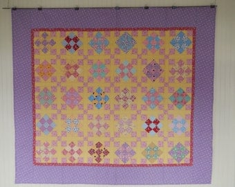 Dancing Nine Patch Quilt