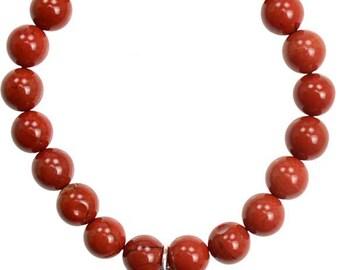 Red Jasper Flower Bracelet