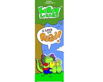 LeRoy Lizard Bookmark